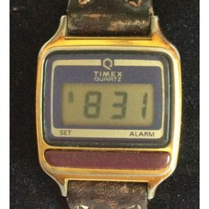 Timex Women Watch Brown Braided Leather Band